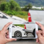 車と車の追突事故