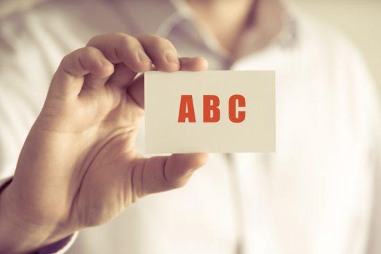 アルファベットのA・B・C