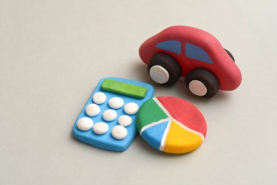 車と円グラフ