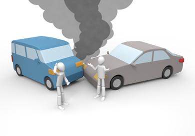 物損事故に適用される法律と人身事故との違い