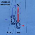 高速道路の合流地点での事故など自動車同士の事故