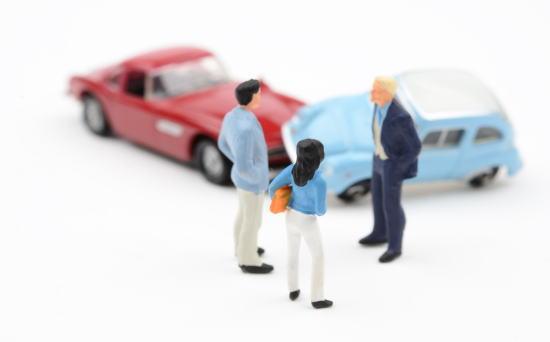 交通事故時の話し合い