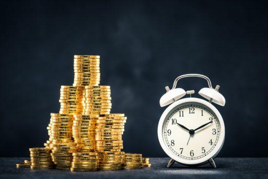保険金が支払われる時間
