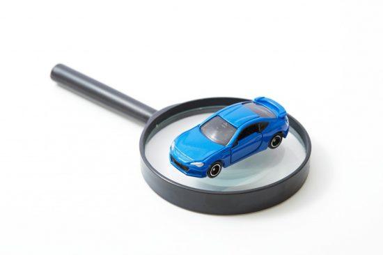 車検を受ける車