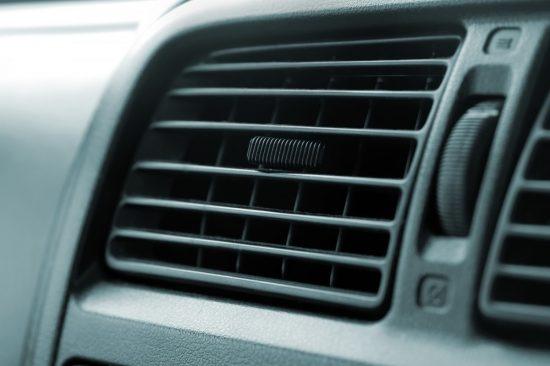 車-エアコンの送風部分