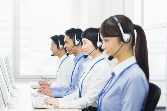 保険会社のコールセンター