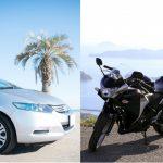 自動車保険とバイク保険の等級は相互に引き継げるの?