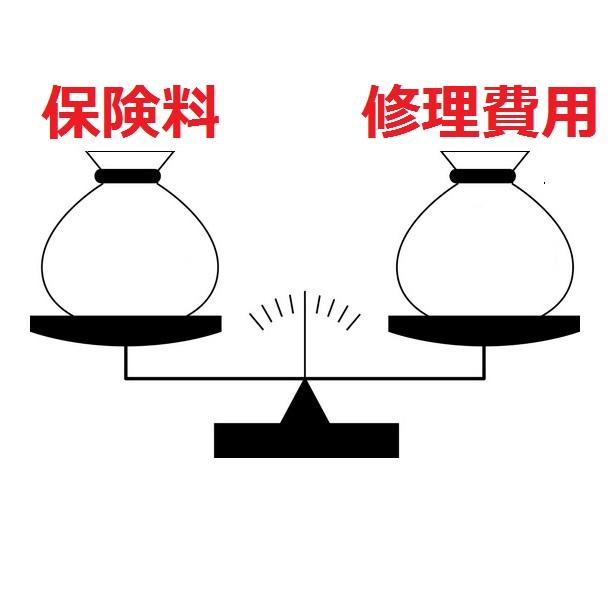 保険料と修理費用を天秤にかける(2)