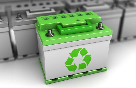 車のリサイクルバッテリー