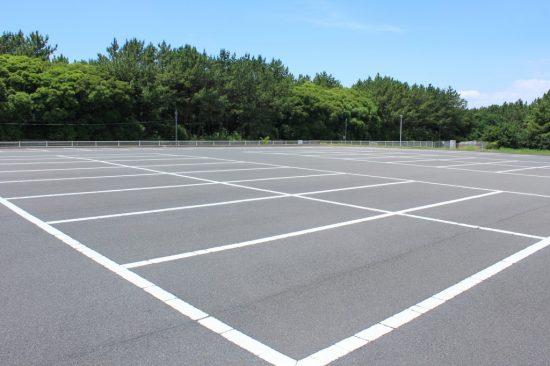 空いている駐車場