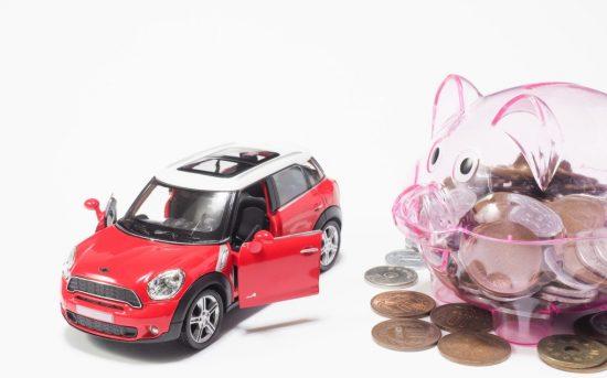 車と豚の貯金箱