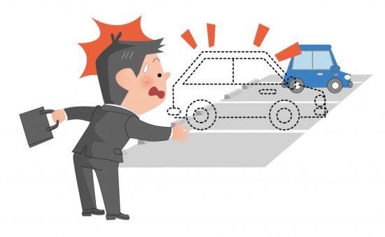 車両盗難に遭ったドライバー