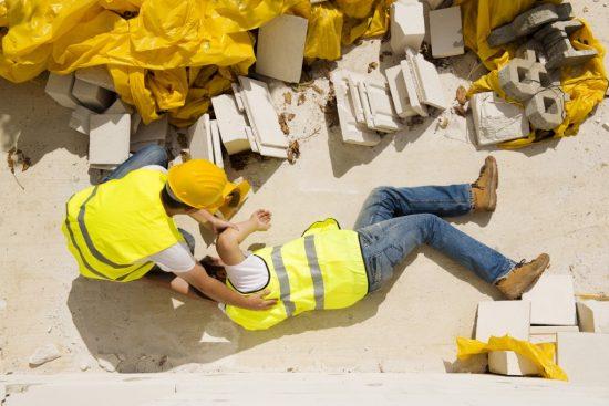 仕事中の事故