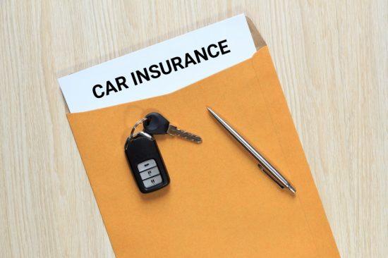 自動車保険の書類