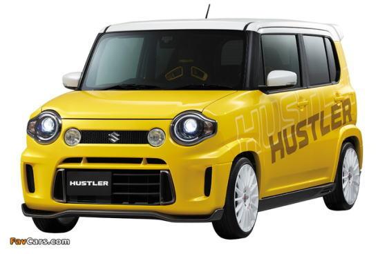 黄色のハスラー