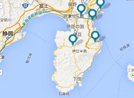 ドライビングコース-伊豆半島