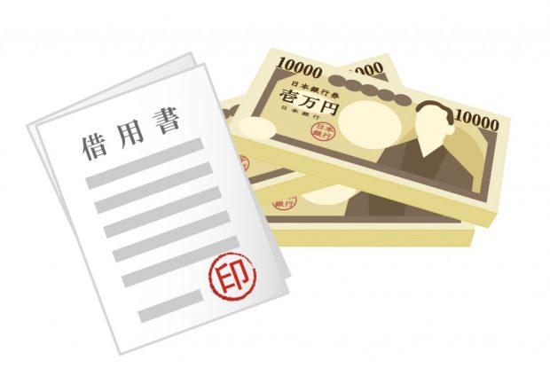 借金と借用書