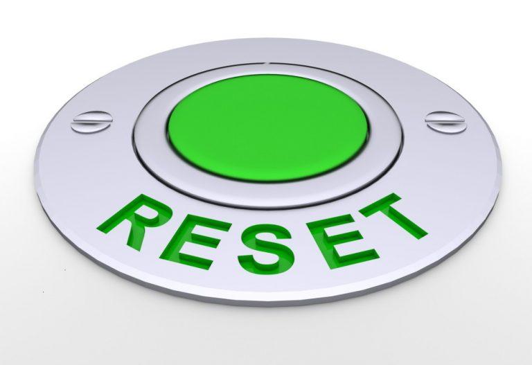 リセットボタン