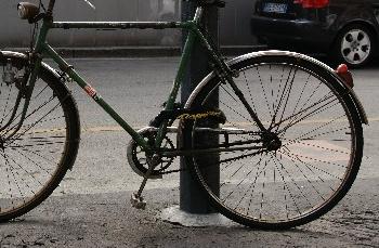 自転車の施錠