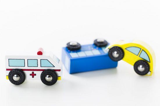 交通事故と救急車