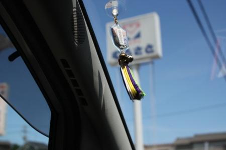 交通安全のお守り