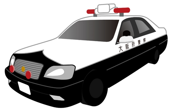 警察官がパトカーや白バイで逃走者を追跡!交通事故を起こした場合の責任は?