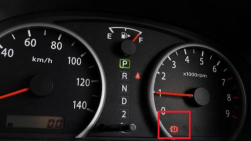 サイドブレーキ警告灯